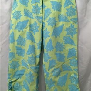 Lilly Pulitzer Girls Seashell Capris